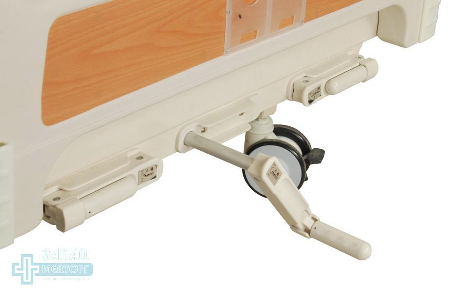 кровать медицинская механическая МК-1125 колесо ручки регулировки