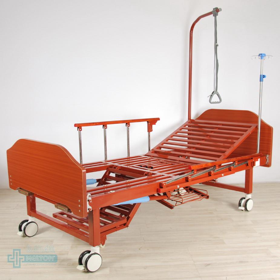 кровать медицинская механическая МК-1123 низ ног
