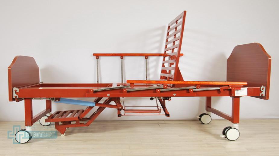кровать медицинская механическая МК-1123 кресло