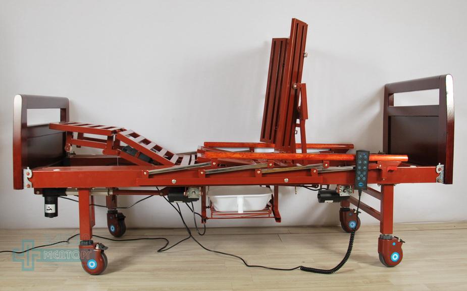 кровать медицинская электрическая МК-1210 подъем