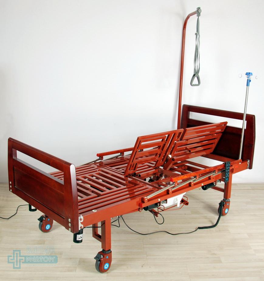 кровать медицинская электрическая МК-1210 левый подъем