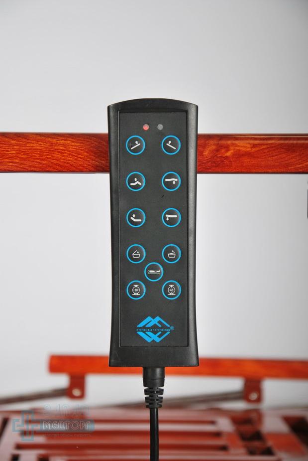 кровать медицинская электрическая МК-1210 пульт управления