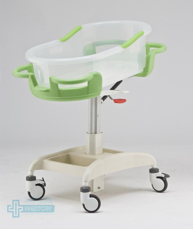 детская кроватка медицинская МК-014 левый передний