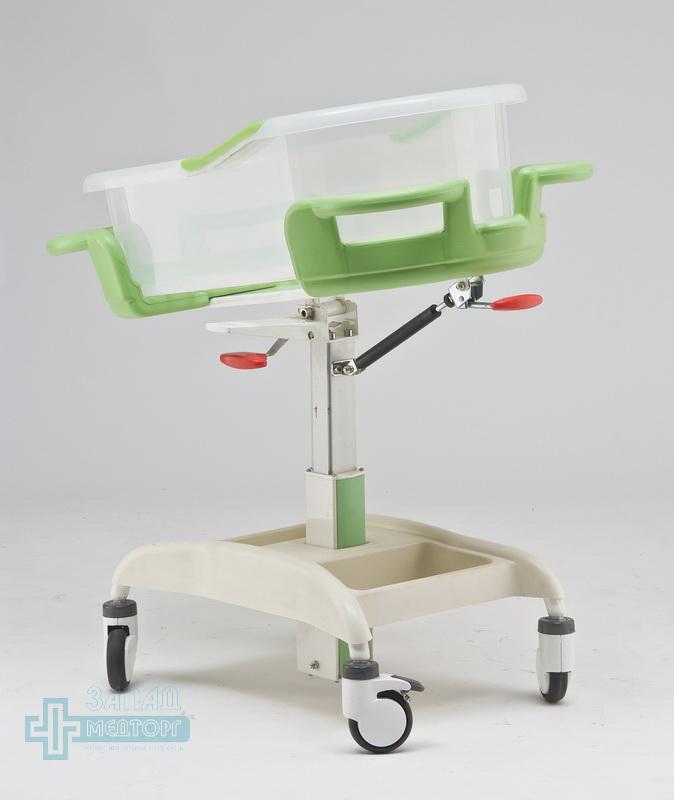 детская кроватка медицинская МК-014 левый задний