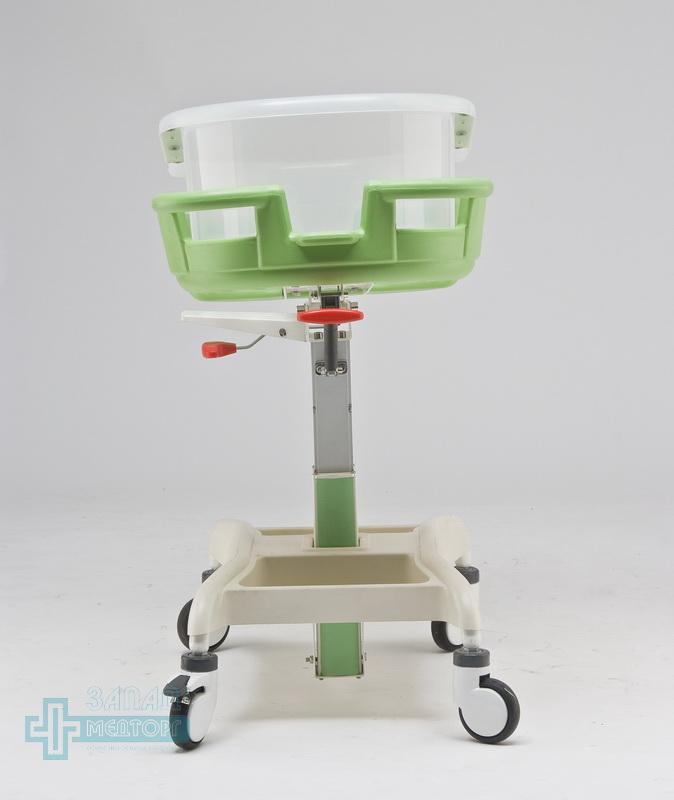детская кроватка медицинская МК-014 задний