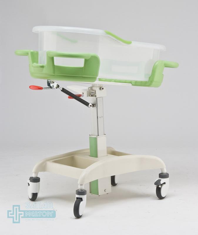 детская кроватка медицинская МК-014 правый задний