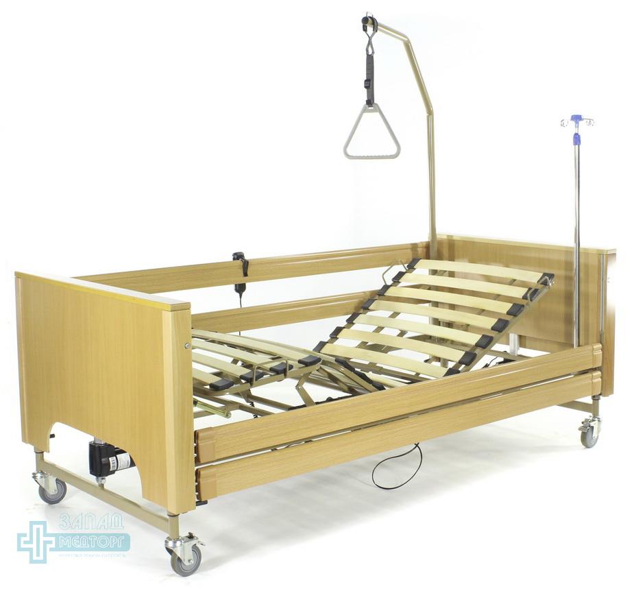 кровать медицинская электрическая МК-127 левый задний