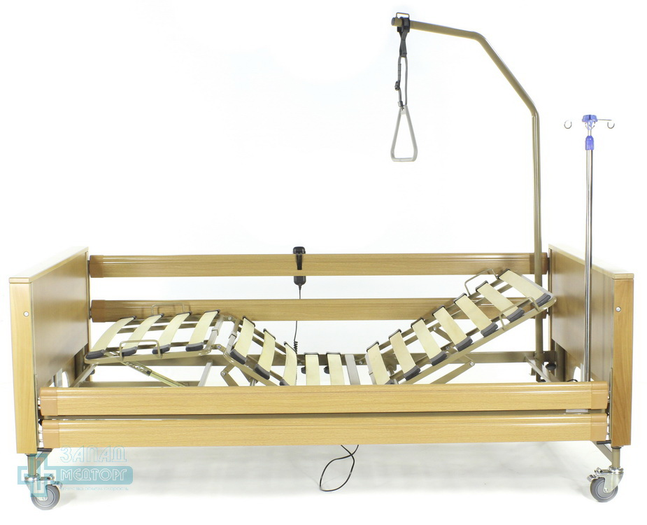 кровать медицинская электрическая МК-127 левый
